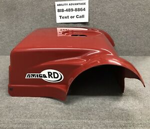 AMIGO-MOBILITY-RD-Scooter-NEW-STYLE-Rear-Cover-shroud-Bright-Red-color-NEW