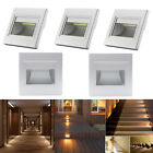 5Pcs Warm White 2.5W LED Wall Recessed Stair Hall Corridor Lamp Corner Lights