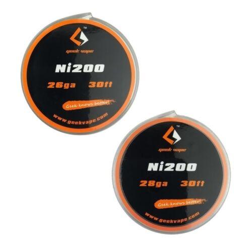 Nickel Draht Wickeldraht 9,14m Selbstwickler Coil GeekVape Ni200 Wire 0,66€//1m