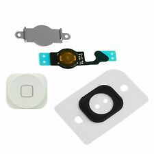 NEW Replacement White Home Button With Flex Cable Seal & Bracket For iPhone 5