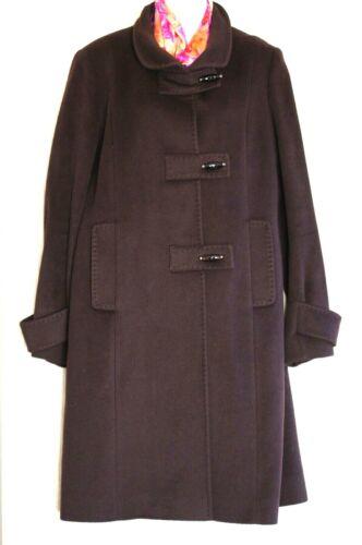CINZIA ROCCA Brown Angora Wool Blend Trench Women'