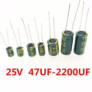 Low Leakage Capacitor 22uF 16V Pack of 100