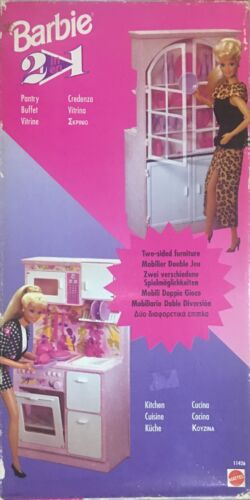 Double Barbie Mobile Jeu 2 In1 Mattel # 2