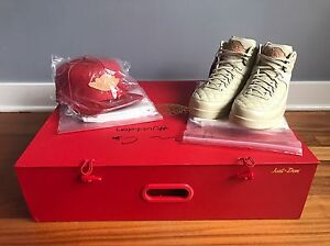 6bd4bcf4f83f99 Nike Air Jordan 2 x Just Don C Beach Pack Autographed Size 10.5 New ...