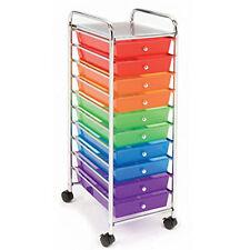 Arts Crafts Organizer School Supplies Cart Craft Room Organization Art Colorful