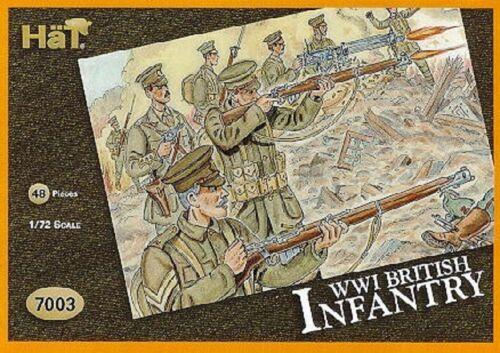 Modell kit Spielzeugsoldaten Figure hat 1/72 7005 WWI britisch Infanterie Action- & Spielfiguren