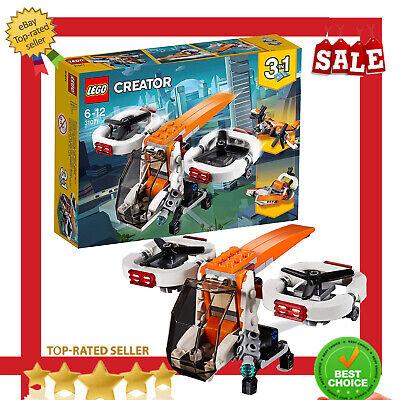 LEGO 31071 Creator 3-IN-1 Model Drone Explorer Swamp Boat And Propeller Plane
