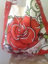 Red By Marc Ecko Rose Cotton Bag Purse Tote Designer Fashion Stylish Hip