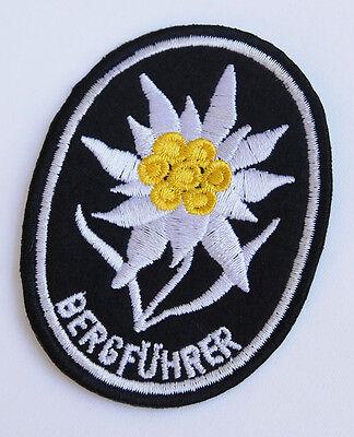 WWII GERMAN MOUNTAIN TROOPS ELITE EDELWEISS SLEEVE PATCH-33140