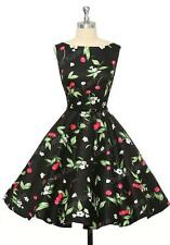 Grace Karin Womens Cocktail Dresses Summer style Floral Print Retro Vintage 50s