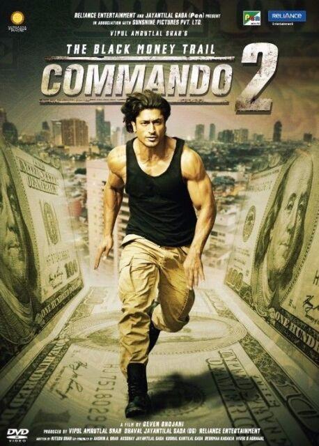 Commando 2 Hindi Dvd Stg Vidut Jamwal Bollywood Indian Action Film