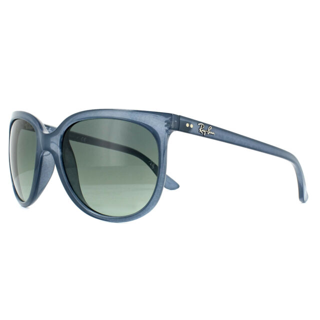 9f9c205829 Sunglasses Ray-Ban Cats 1000 Rb4126 6303 71 57 Trasparent Blue Grey ...