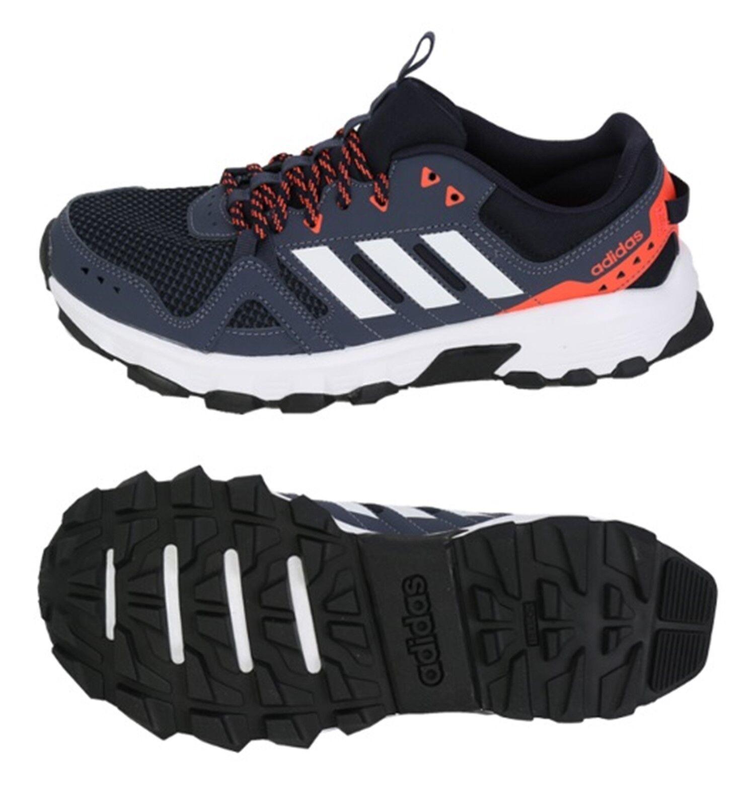 Adidas Hombres rockadia Trail Zapatos tenis de correr entrenamiento Azul  Marino Negro Zapato B43685  tienda hace compras y ventas
