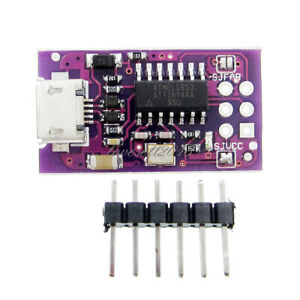 Micro USB Tiny AVR ISP 5V ATtiny44 USB TinyISP Programmer Module For Arduino