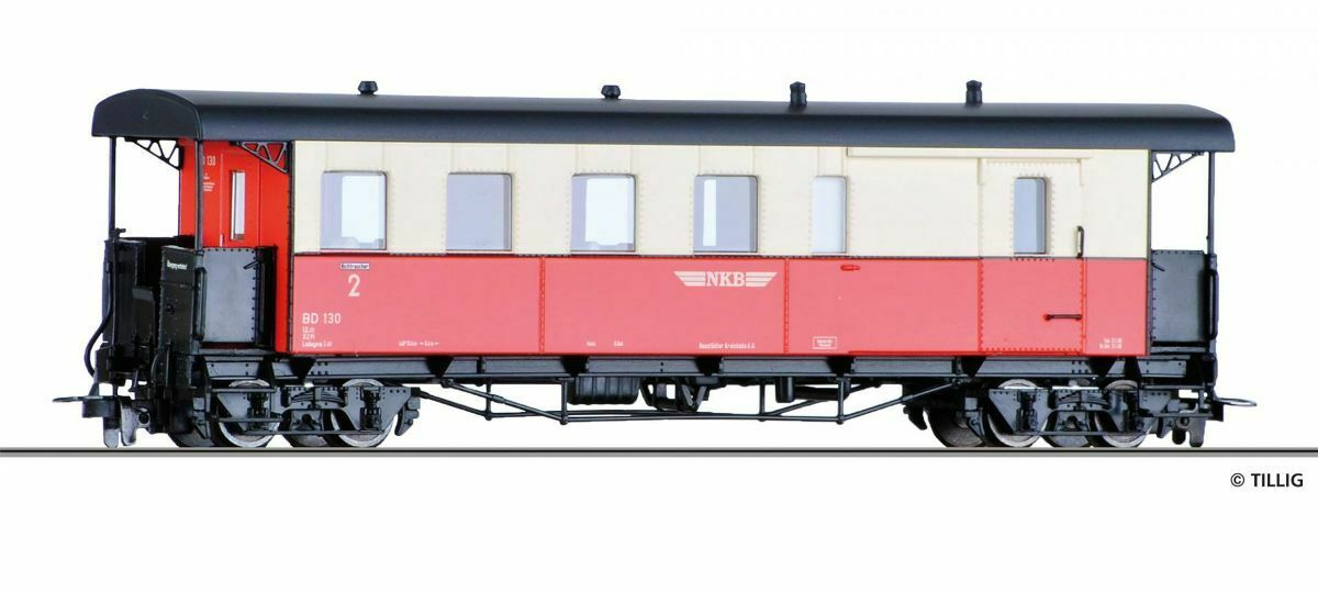 HS Tillig 13965 carro Pack kbpw 4i, NKB HOM