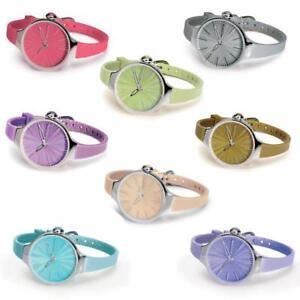 De Silver Silicona Detalles Coloreado Nuevo Reloj Mujer Hoops Cherie Small Lady N08nvmwO