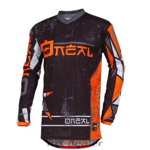 2019 O/'Neal Element ZEN orange Jersey Trikot mx motocross mtb DH Enduro BMX