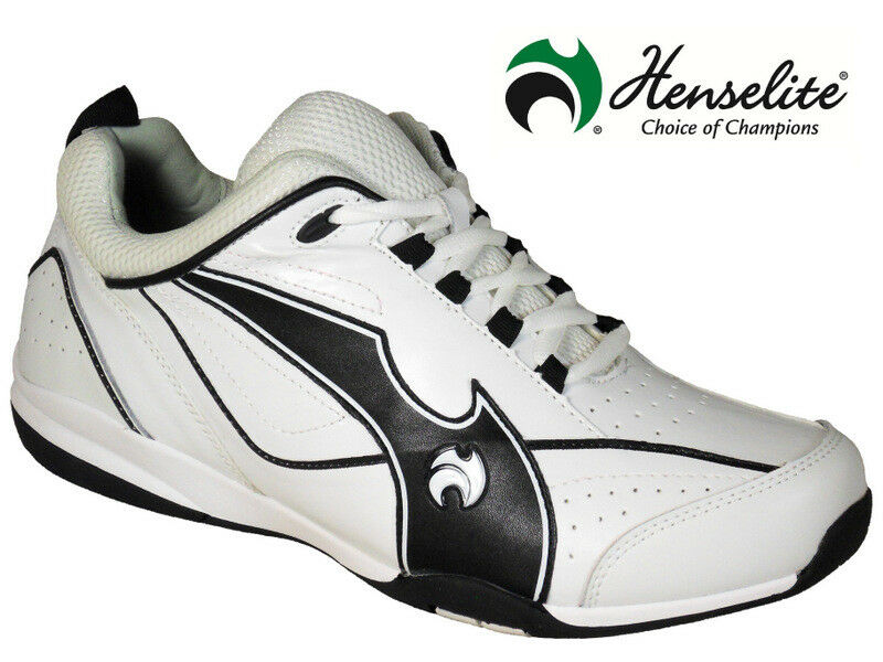 Mens HENSELITE BLADE 34 Lawn Bowl Trainers  Leather