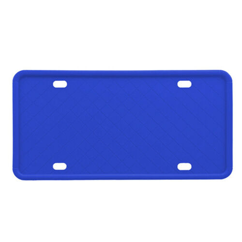 License Plate Frame Replacement Part Auto Holder Soft Silicone Car Accessories