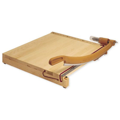 New Swingline Ingento 18  x 18  Maple Guillotine Cutter - 1152 - Free Shipping