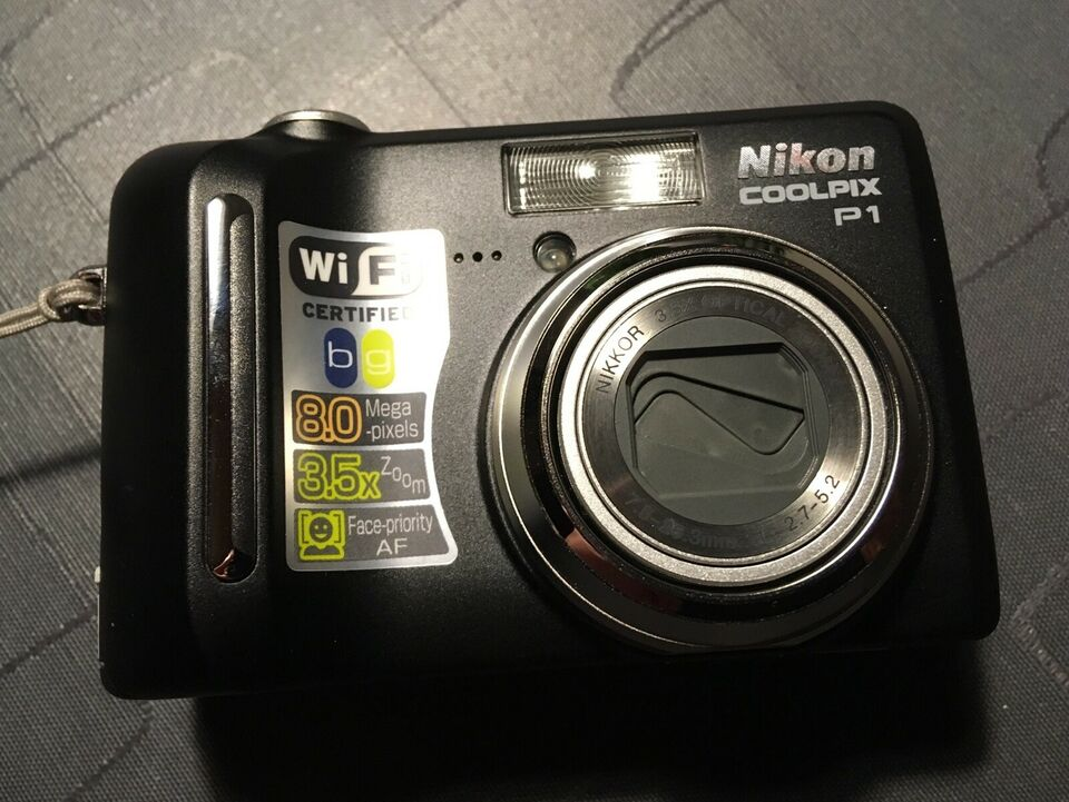 Nikon, 3,5 x optisk zoom, Perfekt