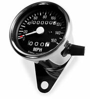 Baja Designs Motorcycle Backlit Analog Speedometer Trip Meter Odometer