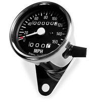 Baja Designs Motorcycle Backlit Analog Speedometer Trip Meter Odometer
