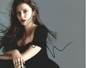 Elizabeth-Olsen-Sexy-Actress-Hand-Signed-8x10-Hott-Photo-Autographed-w-COA