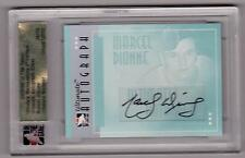 MARCEL DIONNE 05/06 ITG Ultimate Auto Autograph Signed #34/50 SP COA on Back