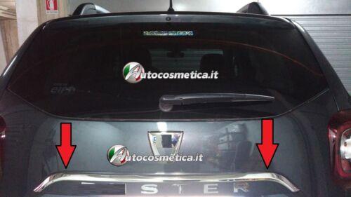 Copri Maniglia cromata portellone baule Dacia Duster II dal 2018 cromature.,