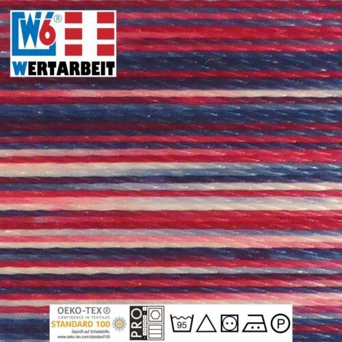 1.000 m 9918 Multicolor W6 Näh und Stickgarn Farb-Nr
