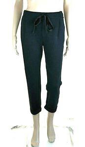 Pantaloni-Donna-VIOLET-ATOS-LOMBARDINI-Made-in-Italy-I134-Affusolato-Nero-Tg-40