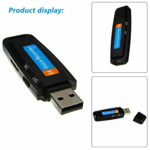 USB Mini Voice Recorder Digital Record  Mini Drive Audio Recording
