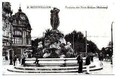 (s-110532) France - 34 - Montpellier Cpa Bardou A. Ed. Verfrissend En Weldadig Voor De Ogen