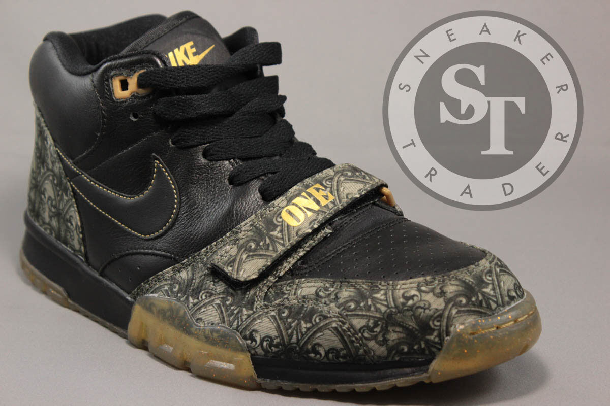 NIKE AIR TRAINER 1 PRM ONE MID PRM 1 QS 607081-002 PAID IN FULL VAPOR GREEN SIZE: 12 e3ea55