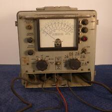 Simpson Multimeter Me 25bu Powers Up New Battery Meter Needle Responds