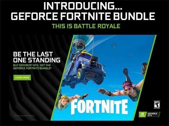 Nvidia Geforce Fortnite Counterattack Set Game Code For Pc Ps4 Xbox