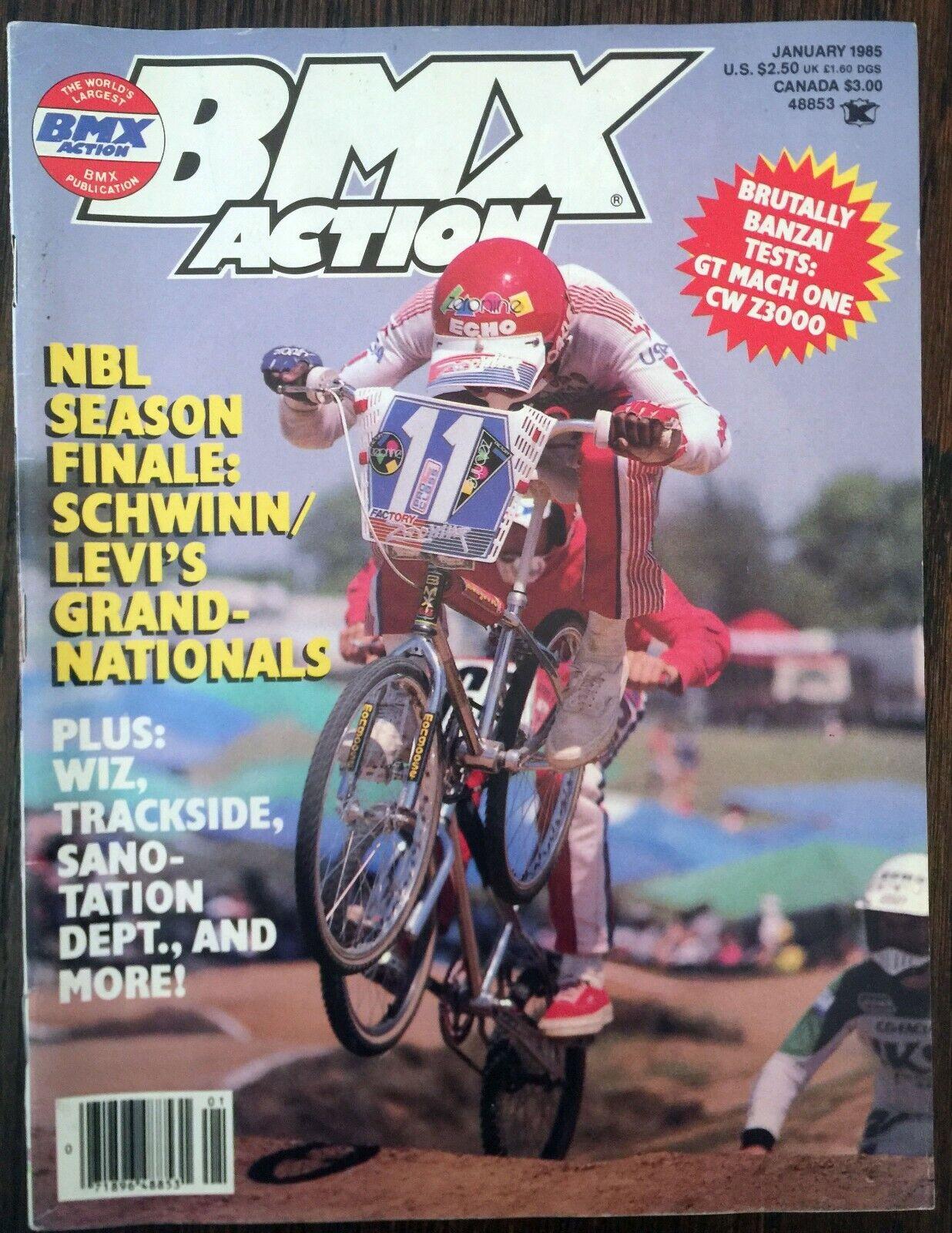 Bicycle  Motocross Action (BMXA) - January 1985  big sale