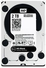 "WD 2 TB BLACK (WD2003FZEX) 3.5"" 7200RPM SATA 6GB/S Internal Desktop HDD + 5 YW"