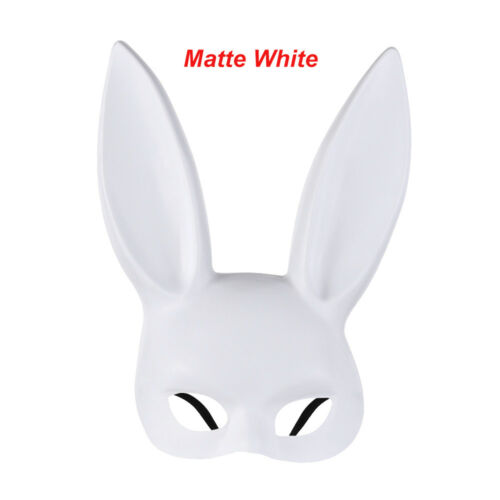 Women/'s Rabbit Ears Mask Halloween Masquerade Headband Party Cosplay Costume