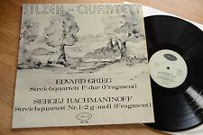 GRIEG RACHMANINOV SILZER-QUARTETT  rare  LP Armida SQ-148 nm