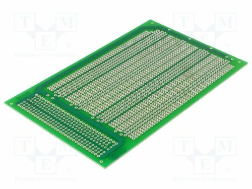 Board 100mm universal; eurocard,single sided,prototyping; W 1 pcs