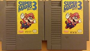 AS-IS-2x-LOT-NES-Nintendo-Entertainment-System-video-games-Super-Mario-Bros-3
