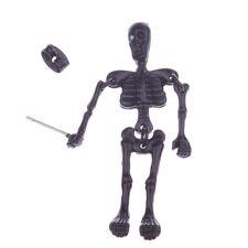 1 Piece Punk Gothic Skeleton Skull Black Villain Dangle Earring Halloween Gift