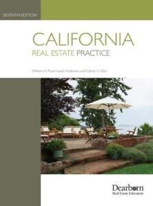 California Real Estate Practice By Pivar 9781475453270 Ebay