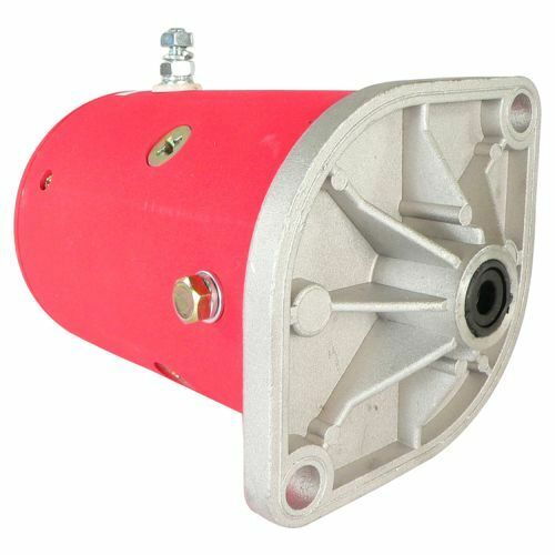New Western Snow Plow Motor Lift Pump MKW4009 1981-UP Double Ball Bearing Design