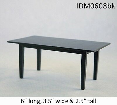 MISSION TABLE 1:12 SCALE DOLLHOUSE MINIATURES Heirloom Collection