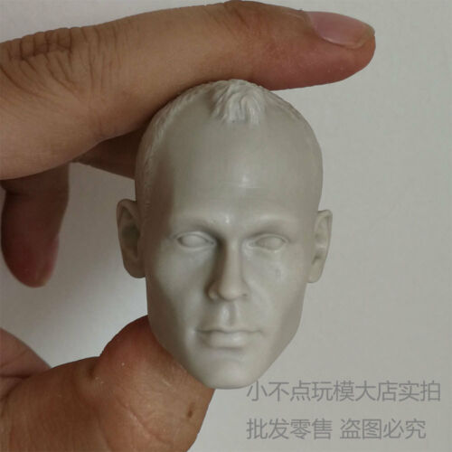 1//6 scale Custom blank Head Sculpt Andres Iniesta Football Star unpainted