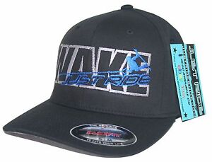 1ee9358be5f07 WAKEBOARD HAT WAKE JUST RIDE FLEXFIT CURVED BILL CAP HYPERLITE ...
