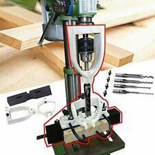 Woodworking Bench Mortiser Square Hole Chisel Drilling Machine Location Tool Ten
